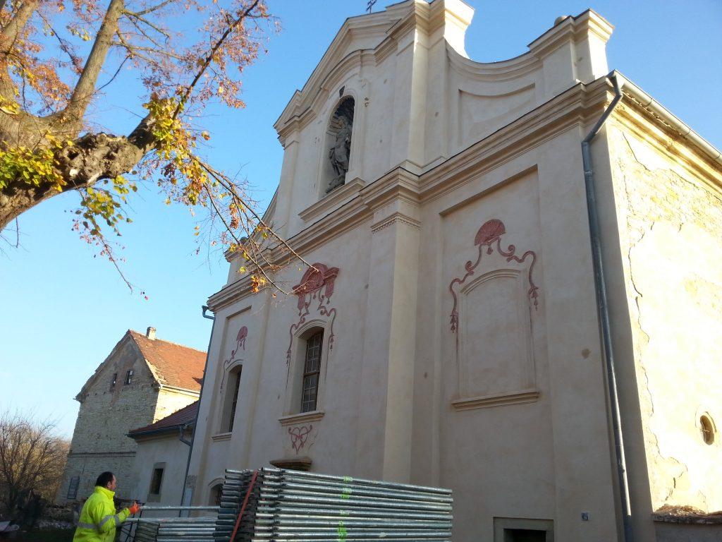 Kostel Hrušovany20181115