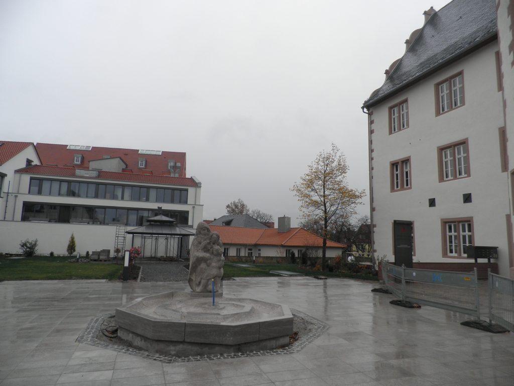 Mušlová Fontána zkušeností Tří Generací, Gerolzhofen