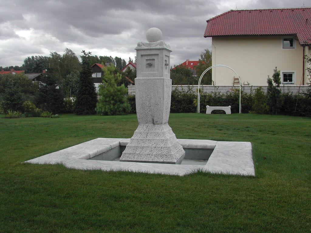 Mramorová fontána Průhonice sochymodely 005
